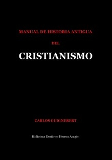 Manual de Historia Antigua del Cristianismo