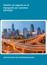 Libro UF2224 - Gestión de seguros en el transporte por carretera, autor Editorial Elearning