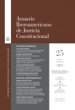 Anuario Iberoamericano de Justicia Constitucional, nº 25 (I), 2021